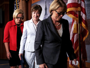 Members Of Congress Discuss New Legislation To Combat Sexual Assaults In Military