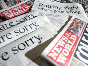 News International Newspaper Apology