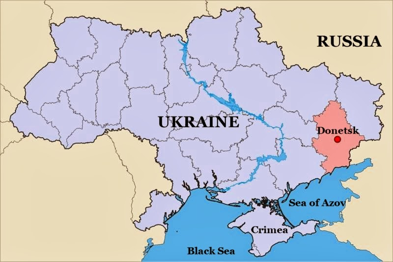 Russia Gobbling Up Ukraine First Crimea Now Donetsk Next Odessa