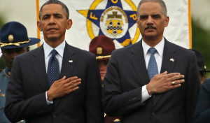 Obama Delivers Remarks At National Peace Officers Memorial Service