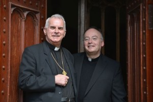 Cardinal Keith O'Brien and Reverend Monsignor Stephen Robson