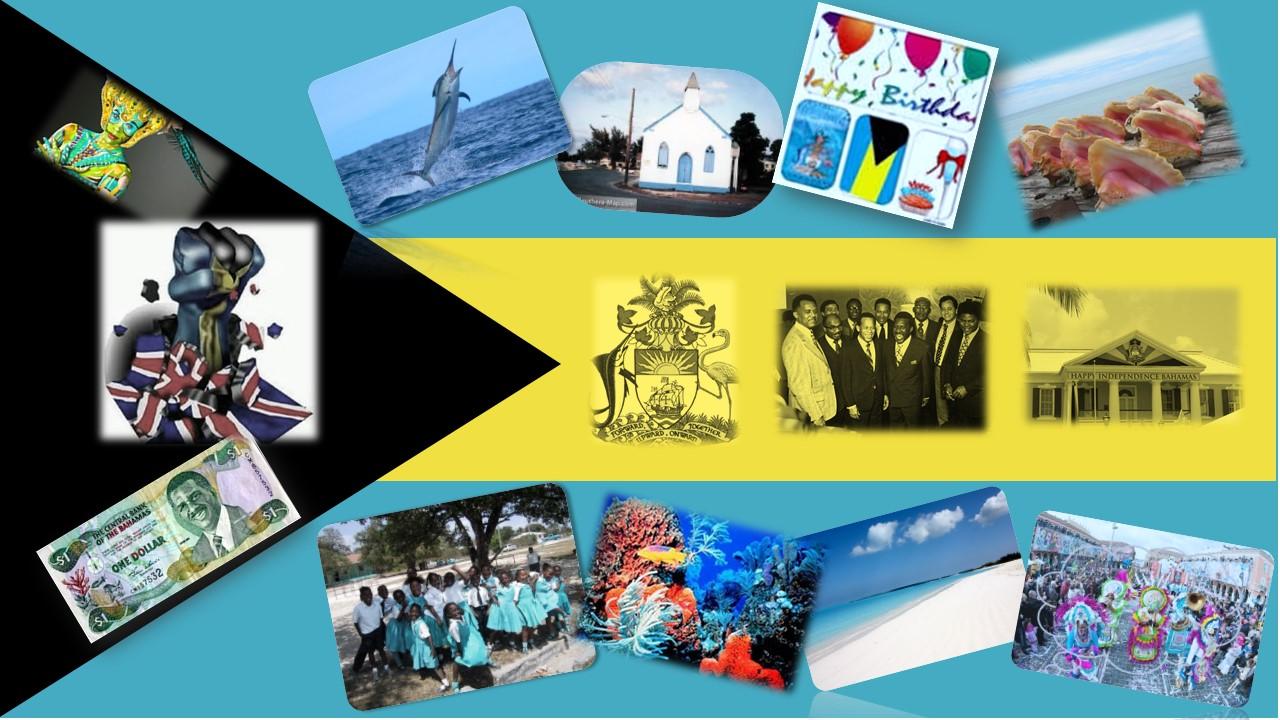 Bahamas Flag V3