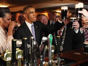 MI+Michelle+Barack+Obama+Moneygall+Offaly+Guinness