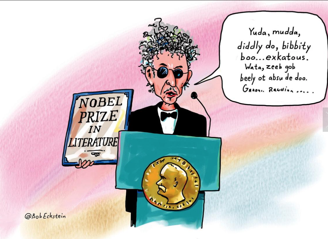The Nobel Prize: Dylan No More Worthy than Obama - The ...